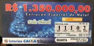 resultado da Loteria Federal 5525
