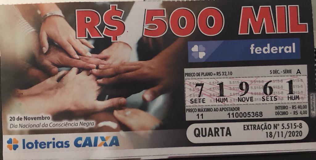 resultado da Loteria Federal 5515