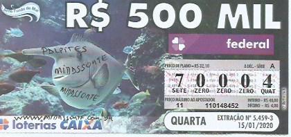 resultado da Loteria Federal 5459