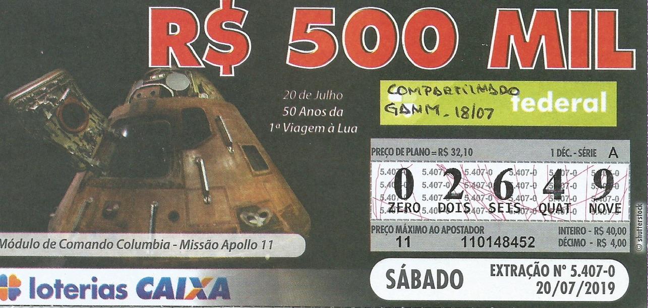 resultado Loteria Federal 5407