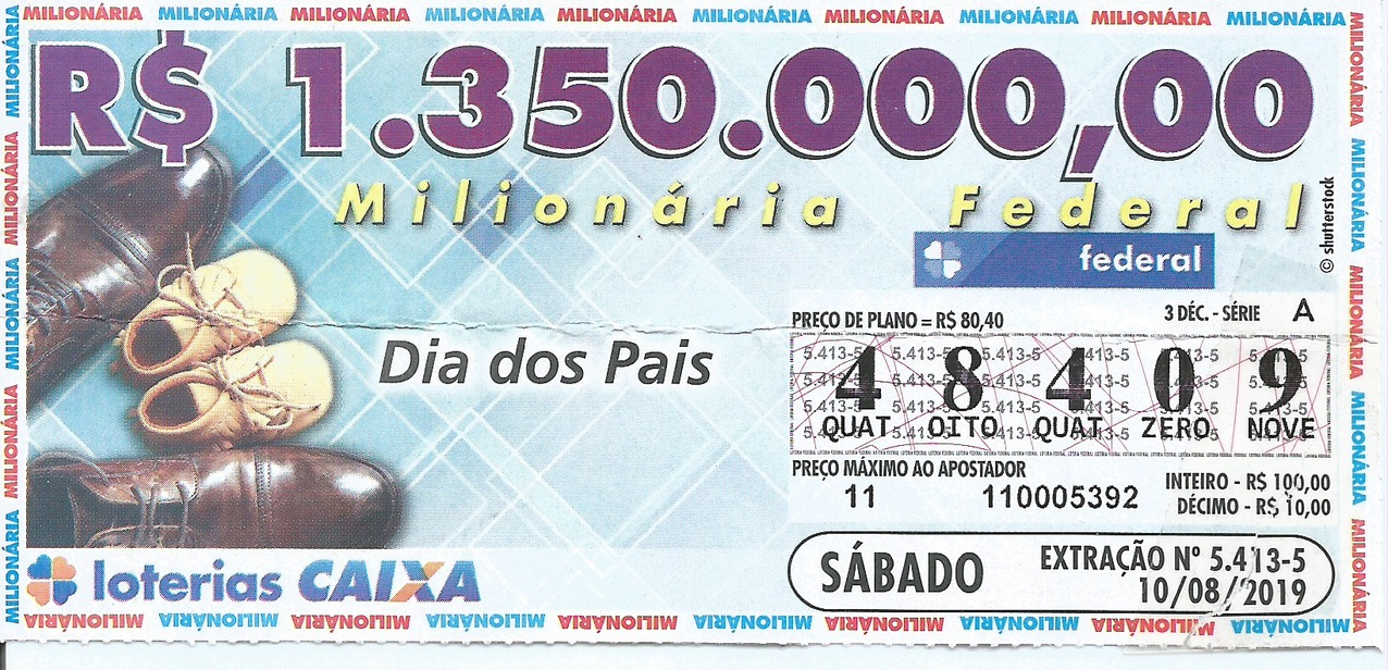 resultado da loteria federal 5413