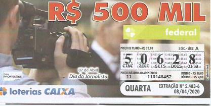 Loteria Federal Palpite