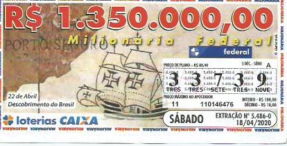 resultado da Loteria Federal 5479
