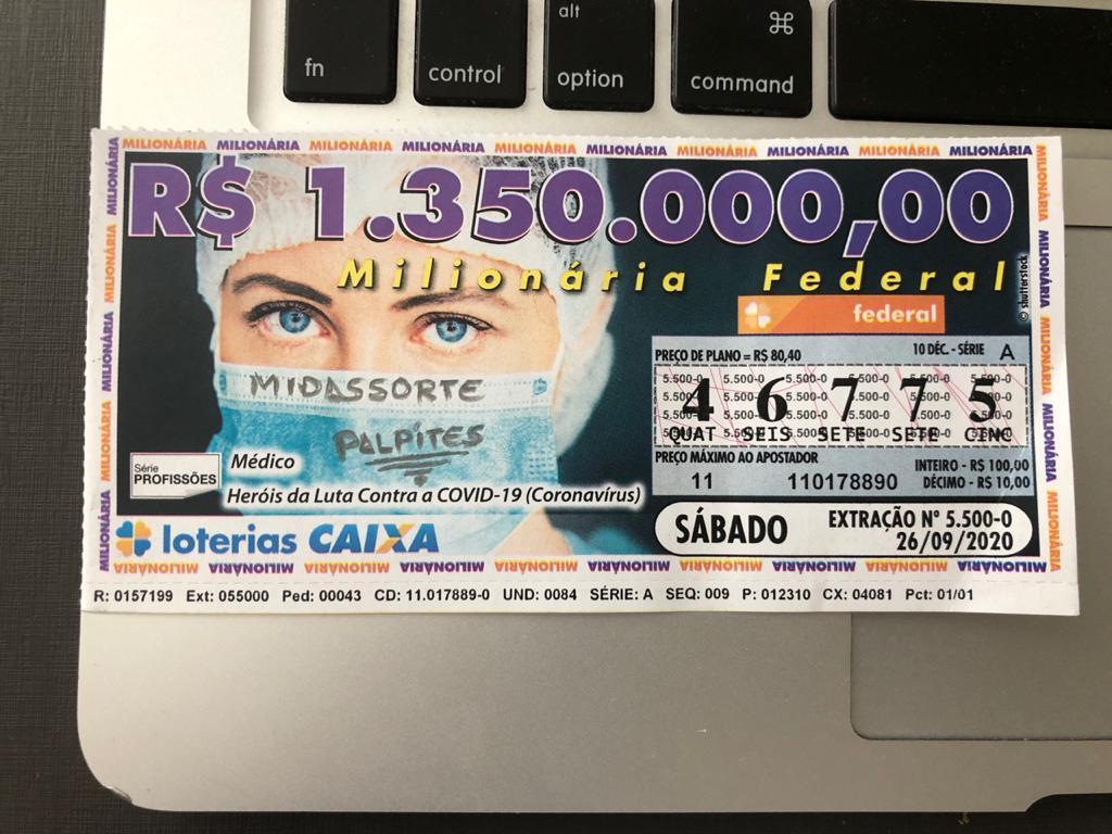 resultado da Loteria Federal 5500