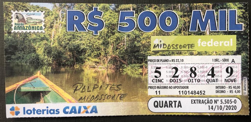 resultado da Loteria Federal 5505