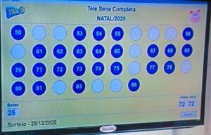 Resultado da Tele Sena