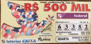 resultado da Loteria Federal 5527