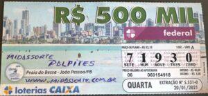 resultado da Loteria Federal 5531