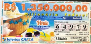 resultado da Loteria Federal 5530
