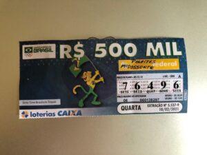 resultado da Loteria Federal 5537