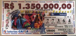 resultado da Loteria Federal 5538