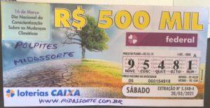 resultado da Loteria Federal 5548