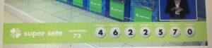 resultado sorteio Super Sete 073