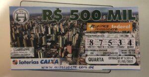 resultado da Loteria Federal 5551
