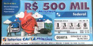 resultado da Loteria Federal 5558