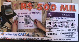 resultado da Loteria Federal 5555
