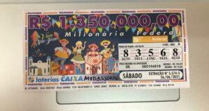 resultado da Loteria Federal 5574