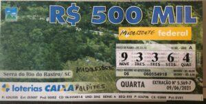 resultado da Loteria Federal 5569