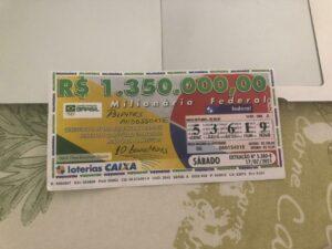 resultado da Loteria Federal 5580