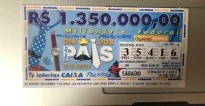resultado da Loteria Federal 5588