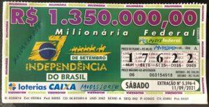 resultado da Loteria Federal 5596